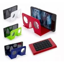 Gafas Realidad Virtual 3d Ideal Celular 5,7 Ver Videos Vr 3d