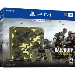 PlayStation 4 Slim 1TB edicion limitada - Call of Duty WWII  Juego Físico
