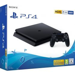 Consola PlayStation 4 Slim 1TB + Control - PS4 Negro - Original