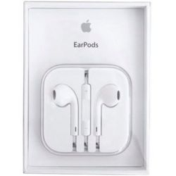 Auricular Manos Libres Apple Earpods Con Microfono-Blanco Para Iphone, 100% Original, MD827ZM/B.