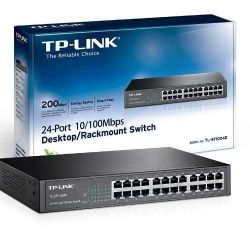 Switch 24 Puertos 10/100 Escritorio/rack Tl-sf1024d Tp-link
