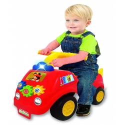 Disney Mickey Mouse Carro Montable Con Luces Fire Ride On